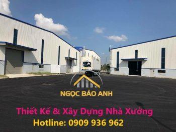Cải tạo nhà xưởng KCN Lê Minh Xuân