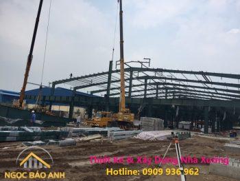 Giá xây dựng nhà xưởng