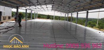 Thi công nhà xưởng Chơn Thành Bình Phước