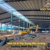 Xây dựng nhà xưởng KCN Lê Minh Xuân