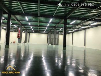 nâng thêm sàn nhà xưởng KCN Việt Hương