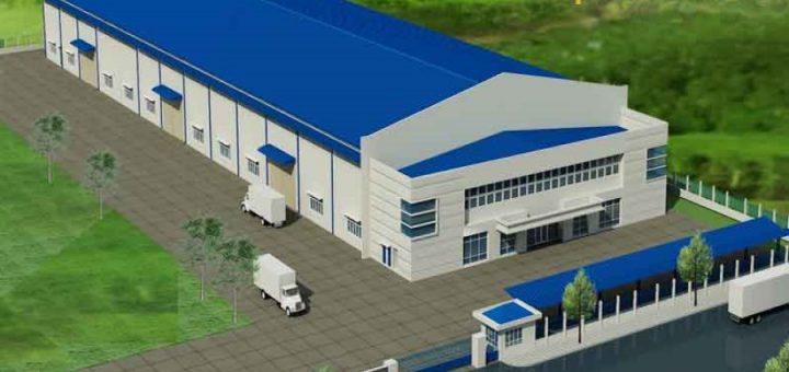 thiết kế xây dựng nhà xưởng