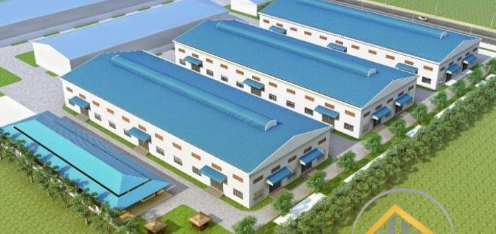 thiết kế nhà xưởng Bình Phước