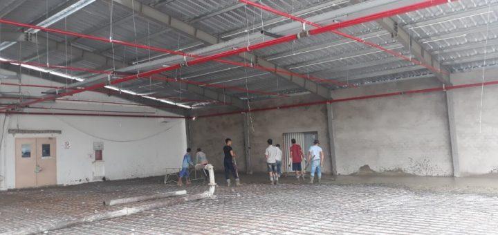 Sửa nhà xưởng tại KCX quận 7