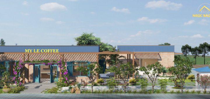 Thiết kế quán cafe tại Bình Phước